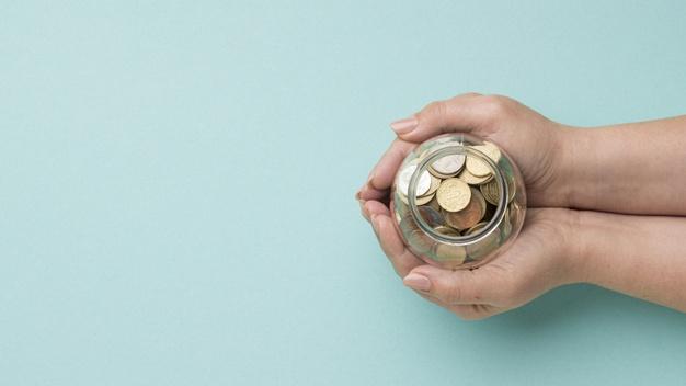 estabilidade financeira cofrinho