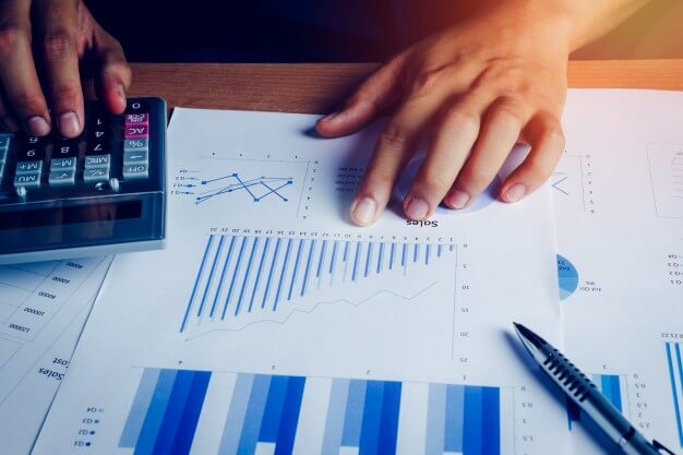 estabilidade financeira graficos