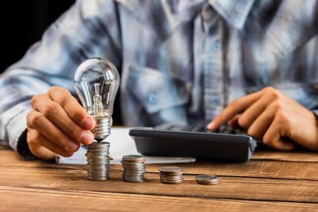 como economizar dinheiro lampada