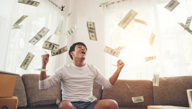 renda extra dinheiro pra cima