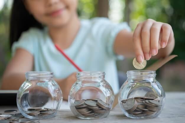 investimento iniciante adolescente moeda