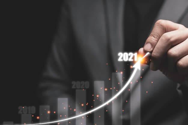 melhores investimentos 2021 grafico